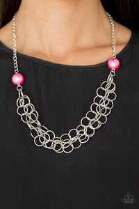 Daring Diva - pink - Paparazzi necklace