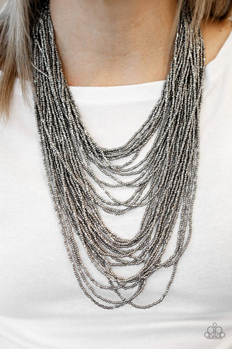 Dauntless Dazzle - black - Paparazzi necklace