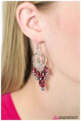 Daydreaming - Pink - Paparazzi earrings