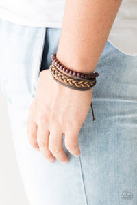 Deep Sea Sinker - brown - Paparazzi bracelet