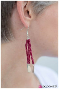 Desert Serenade - Pink - Paparazzi earrings
