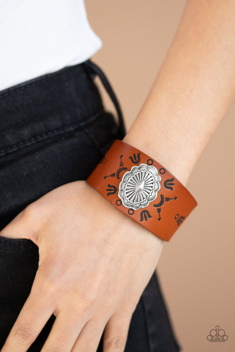Desert Badlands-brown-Paparazzi bracelet