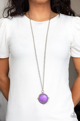 Desert Equinox - purple - Paparazzi necklace