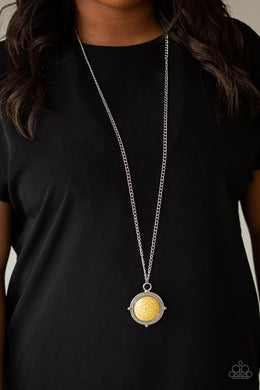 Desert Equinox - yellow - Paparazzi necklace