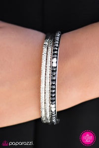 Diamond Edge - Paparazzi bracelet