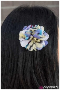 Different Strokes - blue - Paparazzi hair clip