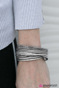 Do The Hustle - Silver - Paparazzi bracelet