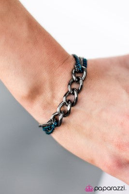 Double Play - blue - Paparazzi bracelet