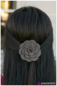 Down South - silver - Paparazzi hair clip