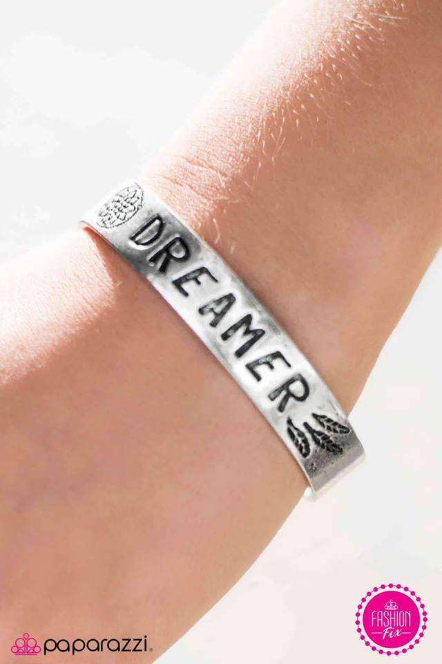 Dream On, Dreamer - Paparazzi Bracelet