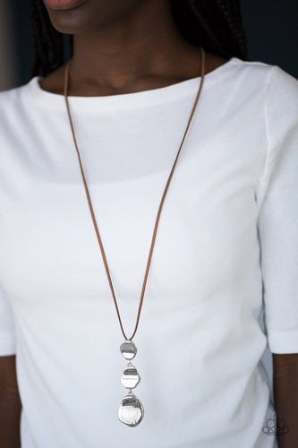Embrace the Journey-brown-Paparazzi necklace