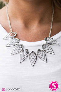 Endangered Species - silver - Paparazzi necklace