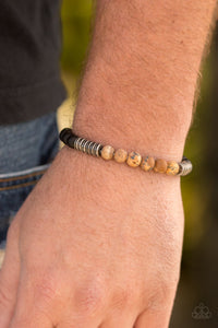 Energetic - brown - Paparazzi bracelet
