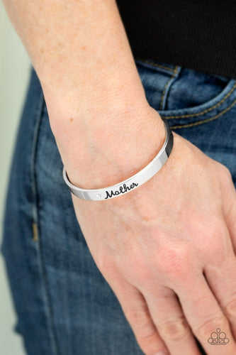 Every Day is Mothers Day - silver - Paparazzi bracelet