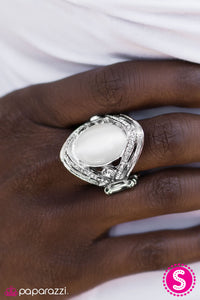 Everyday Is A Fairy Tale - White - Paparazzi ring
