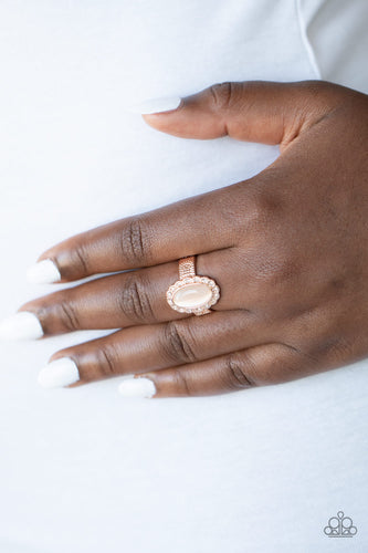 Fabulously Flawless - rose gold - Paparazzi ring