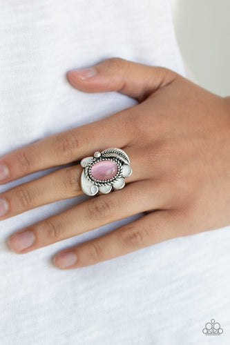 Fairytale Magic-pink-Paparazzi ring