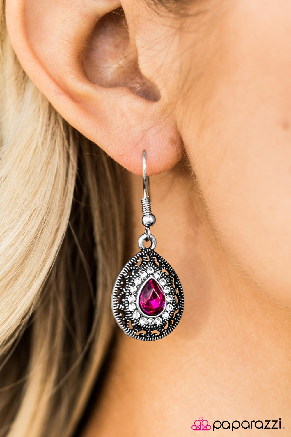 Falling In LOUVRE With You - Paparazzi earrings