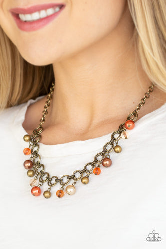Fiercely Fancy - multi - Paparazzi necklace