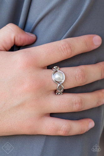 Finest of Them All - white - Paparazzi ring
