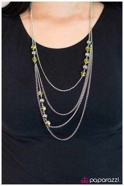 Fools Rush In - yellow - Paparazzi necklace