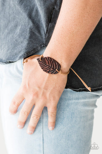 Forest Forager - brown - Paparazzi bracelet