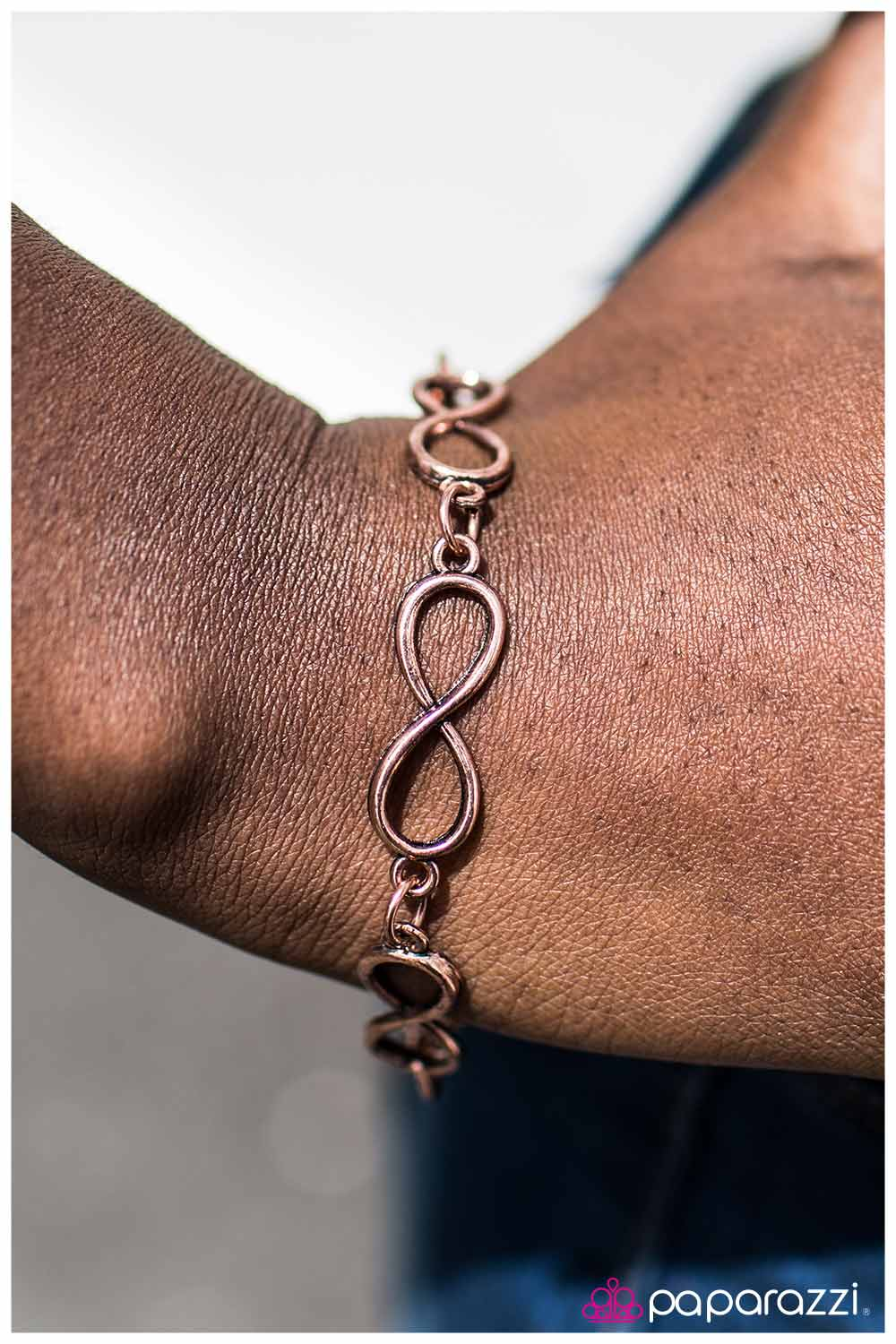 Forever Yours - copper - Paparazzi bracelet