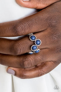 Foxy Fabulous - blue - Paparazzi ring
