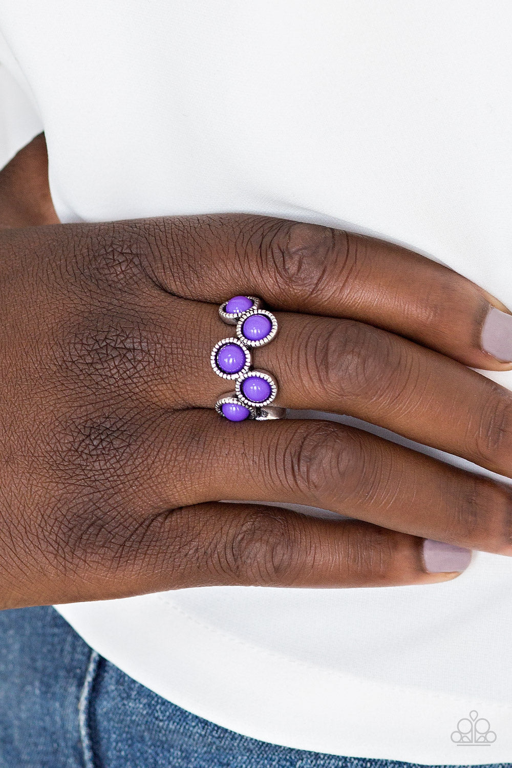 Foxy Fabulous - purple - Paparazzi ring