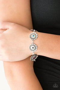 Funky Flower Child - multi - Paparazzi bracelet