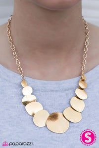 GLAM Artist - Gold - Paparazzi necklace