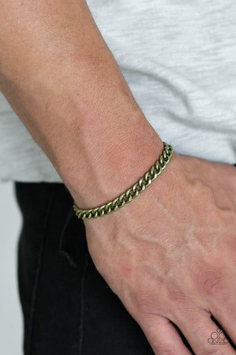 Goals - black - Paparazzi mens bracelet