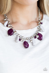 Grand Canyon Grotto - multi - Paparazzi necklace