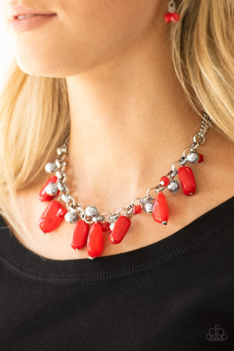 Grand Canyon Grotto - red - Paparazzi necklace