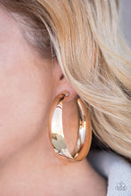 Load image into Gallery viewer, Gypsy Goals-gold-Paparazzi earrings