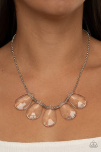 HEIR It Our - white - Paparazzi necklace