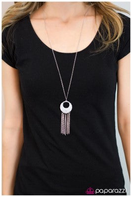 Hanging on Every Word - Paparazzi necklace