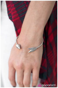 Happy Hunter - silver - Paparazzi bracelet