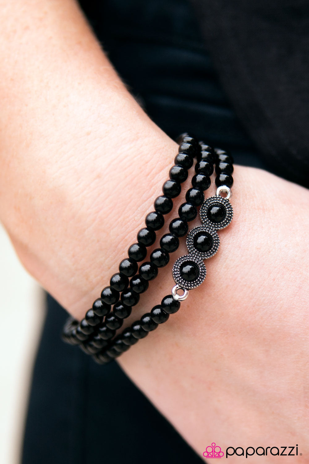 Happy Trails - Black - Paparazzi bracelet