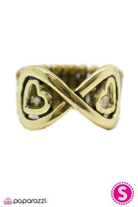 Heart and Soul - Paparazzi brass ring