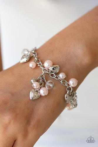 Heart Haven-pink-Paparazzi bracelet
