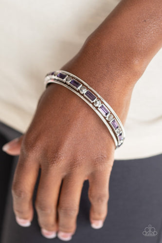 Heir Toss-purple-Paparazzi bracelet
