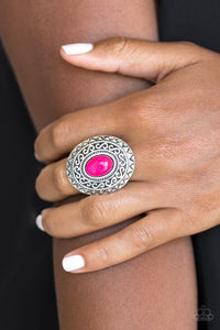 Hello Sunshine - pink - Paparazzi ring