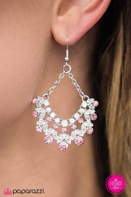 Hey Glitter Glitter - Paparazzi earrings