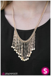Hey, Jealousy - Gold - Paparazzi necklace