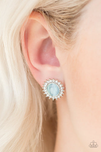 Hey There Gorgeous - blue - Paparazzi earrings