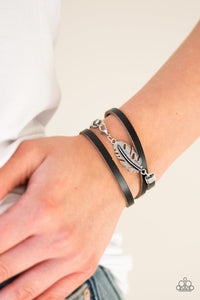 High Spirits-black-Paparazzi bracelet