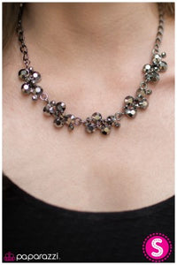 Hollywood Hills - Black - Paparazzi necklace