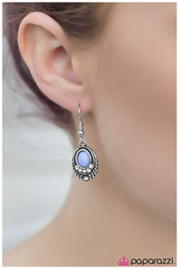 How Enchanting! - Blue - Paparazzi earrings