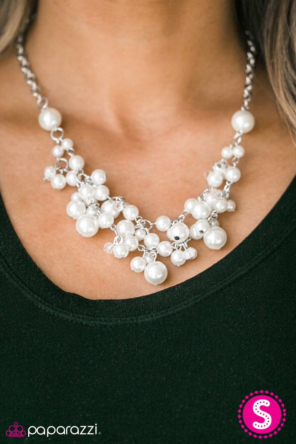 I Can SEA Clearly Now - White - Paparazzi necklace